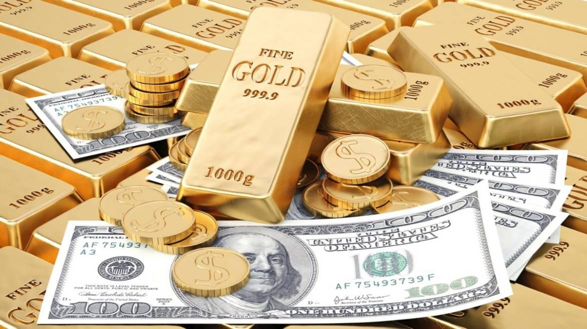 الذهب النفط الدولار بإنخفاض بسبب كورونا