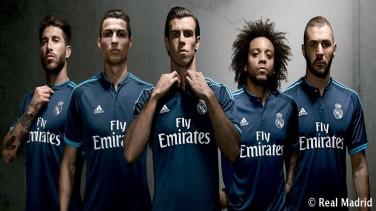 ريال مدريد بالقميص الوردي الموسم القادم
